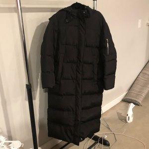 Benetton Long Puffer Coat